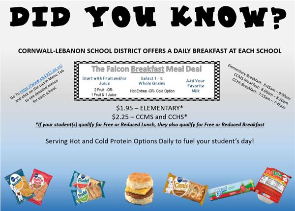 CLSD Breakfast Infographic